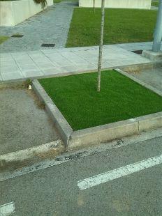 Cesped artificial en la España Verde...