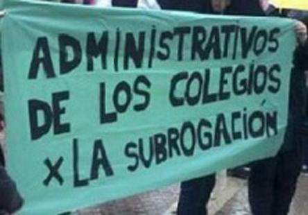 ¡SUBROGACIÓN Y DEVOLUCIÓN DE NUESTROS PUESTOS YA!