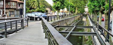 Arroyo de  Pontonilla en Cabezón de la Sal