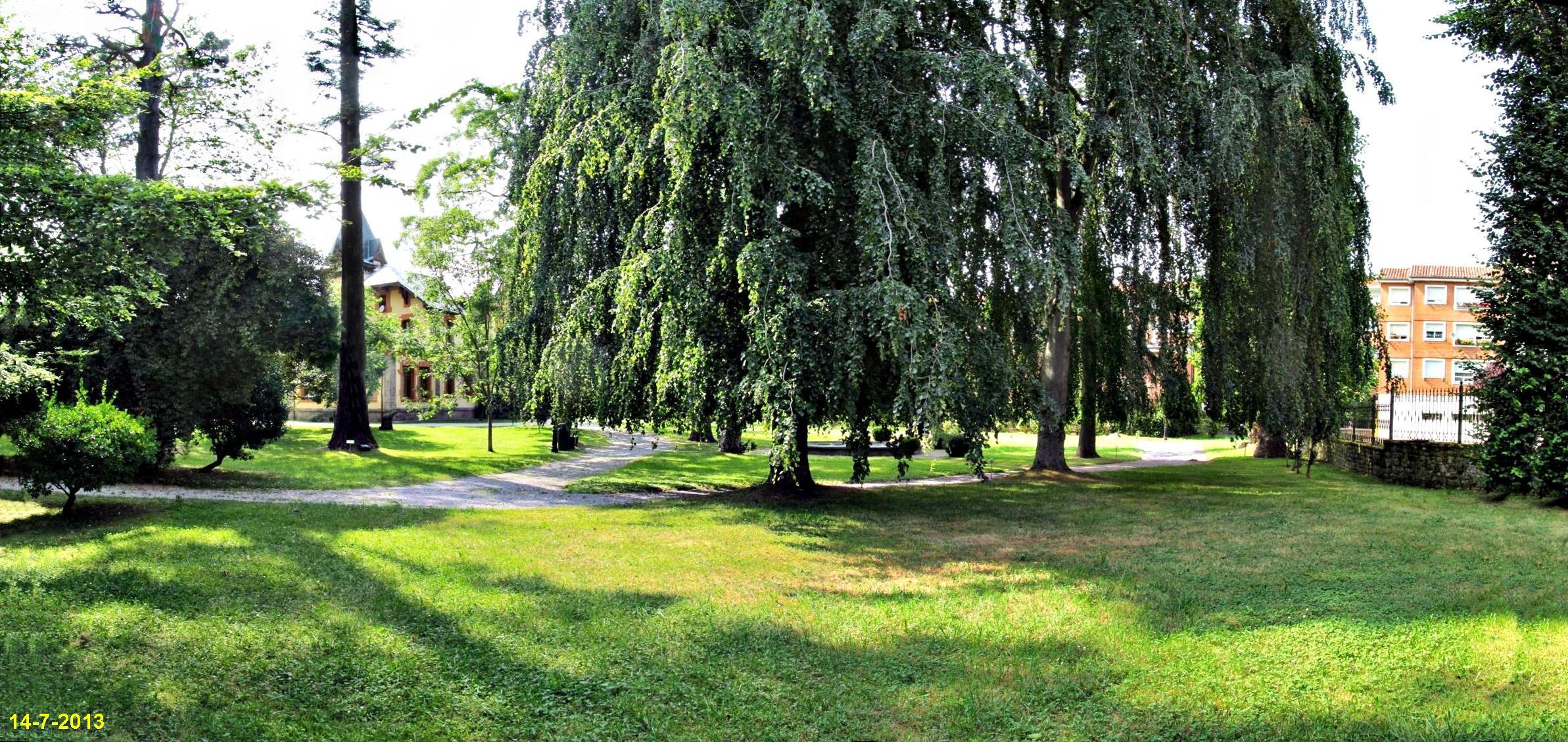 Cabez n haya pendular en el parque de san diego fotos for Parques y jardines fotos