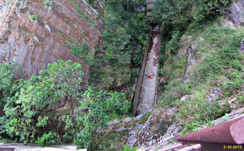 Pasadizo en la mina de Castro Urdialas