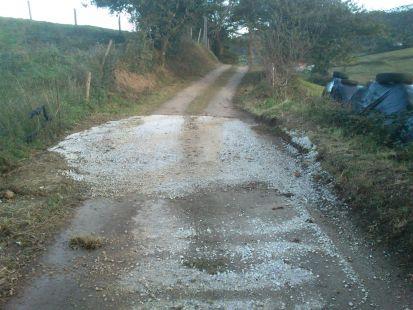 Carretera al B El Bardalón La MONTAÑA Ayto de Torrelavega