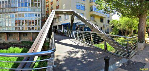 Reinosa, puente sobre el Ebro