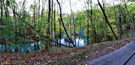 El Ebro en Fontibre, desde el merendero