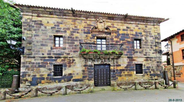 Liérganes, casa de los Cantolla
