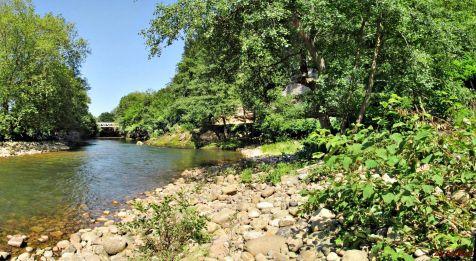 Río Saja en Quijas