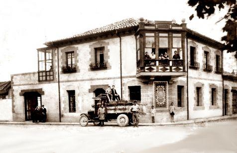 Comercio y casa de Pedro Compostizo. Antaño