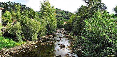 Liérganes el Rio Miera