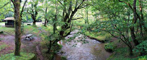 Rio Bayones por los montes de Ucieda