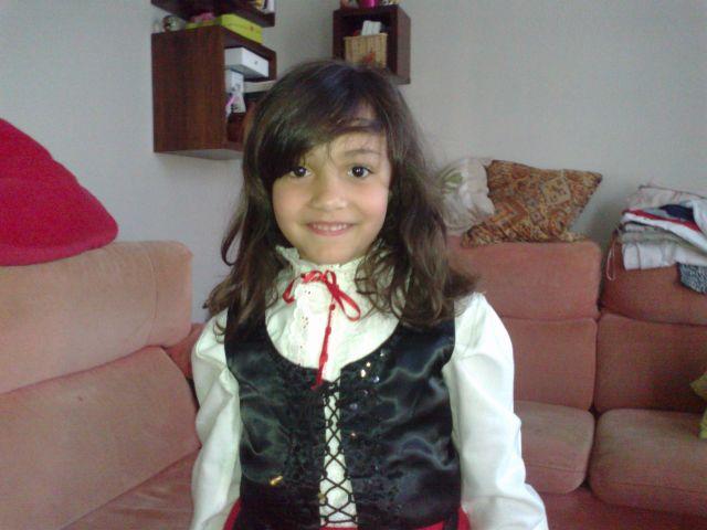 Martina cumple 6 años
