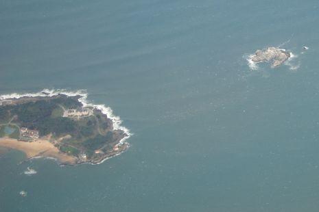 Península de la Magdalena - Isla de Mouro