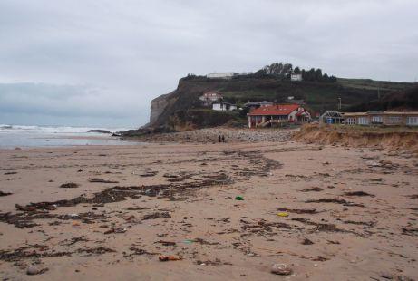 La playa de Luaña, Cóbreces. Febrero 2014