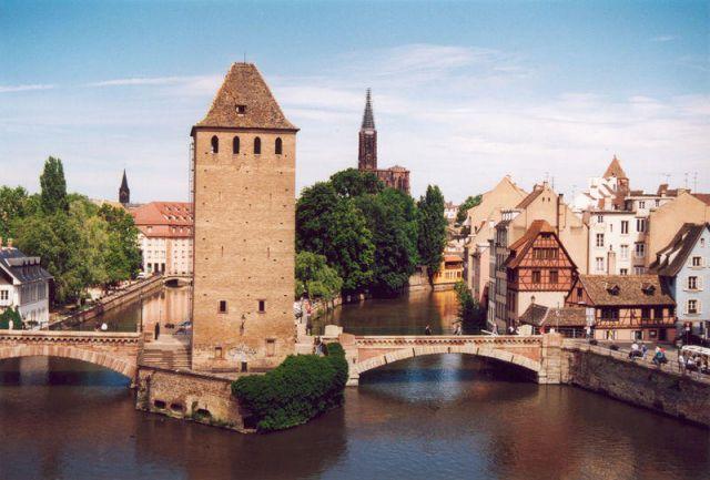 Estrasburgo, los puentes cubiertos