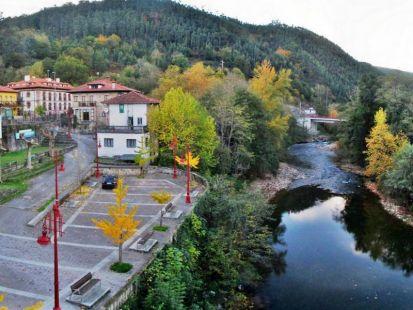 Rio Besaya por Las Caldas