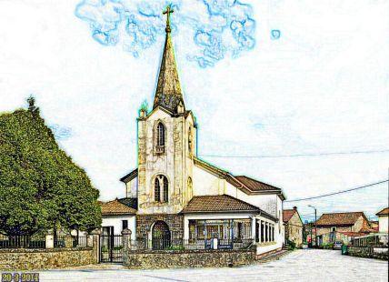 Iglesia Santisimo Cristo. La Penilla