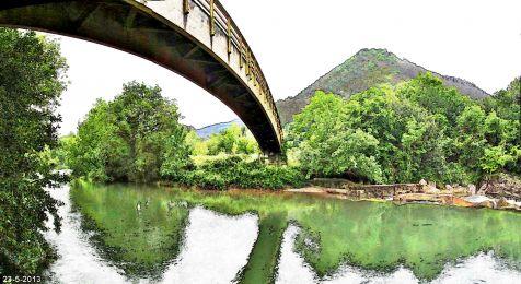 Puente Viesgo, el Pas y Monte Castillo