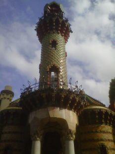 El Capricho, la torre