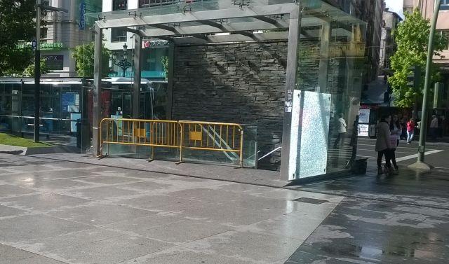 Entrada Parking Ayuntamiento de Santander