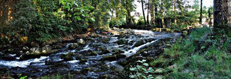 Rio Aguanaz a su paso por Hoznayo
