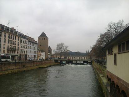 Ecluse Ponts Couverts. Estrasburgo