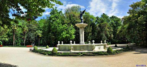Fuente de la Fama. Valladolid, Campo Grande