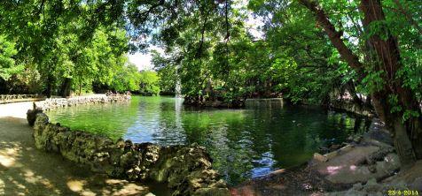 Lago en el Parque Campo Grande. Valladolid