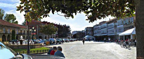 Aguilar de Campoo. plaza de España