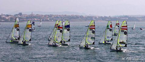 Mundial Vela 2014. Despertar de Santander