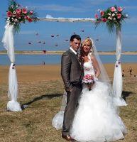 Cristian y Verónica se casaron