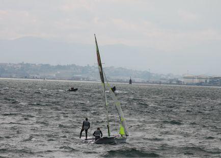 Mundial de Vela 2014, Santander