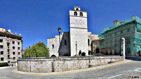 Subiendo a la Catedral de Santander