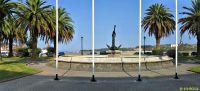 San Vicente de la Barquera. Monumento al ancla
