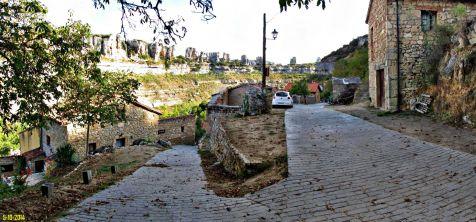 Hacia Orbaneja del Castillo en Burgos