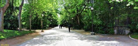 Parque de Campo Grande en Valladolid