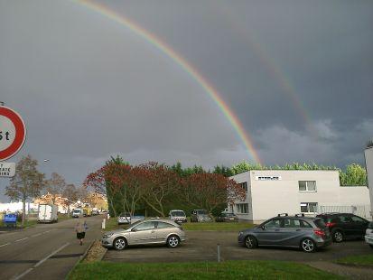 Arco Iris en noviembre 2014