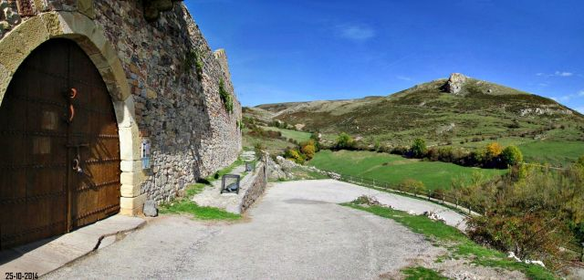 Desde el Castillo de Argüeso