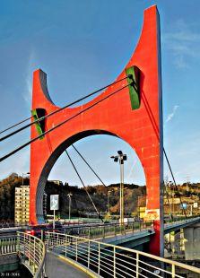 Puente peatonal, Bilbao
