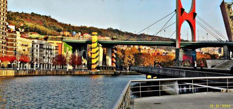 Bilbao. Puente La Salve
