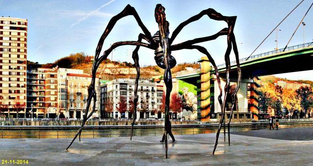 Escultura MAMA. Bilbao
