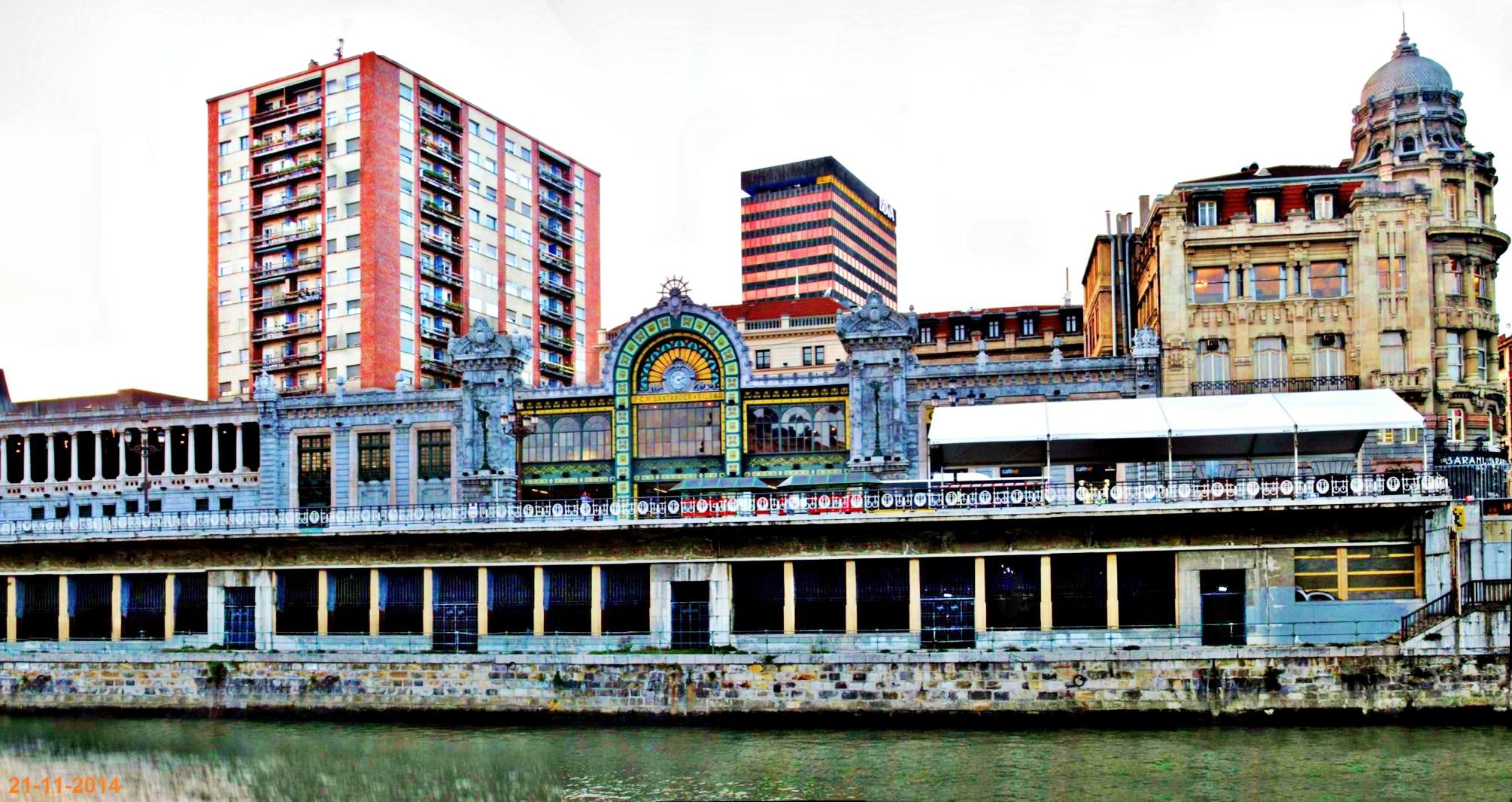 Estacion de Abando. Bilbao   fotos de Vacaciones