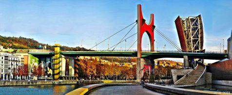 Puente de la Salve. Bilbao