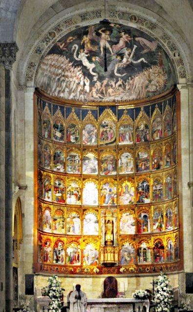 Retablo catedral antigua. Salamanca