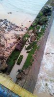 Aguas fecales en la Playa del Camello