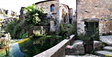 Orbaneja del Castillo, aguas cristalinas