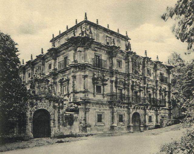Palacio de Senones. Villacarriedo. Antaño