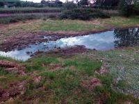 Vertido colector saneamiento de la Bahia en BOO