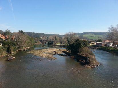 Rio Pas en Arce