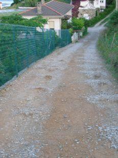 Camino de cabras en CÓBRECES.