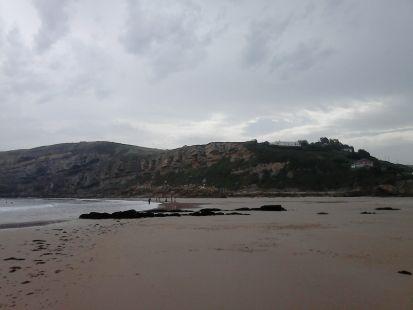 Playa de Luaña, en CÓBRECES