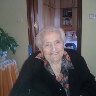 Regina Pérez cumple 103 años el dia 10/11/2015. Felicidades